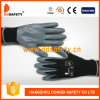 Ddsafety 2017 Black Nylon with Grey Nitrile Glove