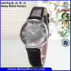 Hot Selling Watch ODM Service Business Alloy Leather Watch (WY-134E)