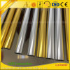 Polished Silver Golden Aluminium Round Tubing for Balcony Handrail