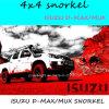 LLDPE Material 4X4 Snorkelisuzu D-Max Snorkel