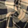 Supple Special and Colourful Glen Check Double-Faced Woolen Goods Fabrics for Dress