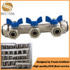 Plastic Handle for Water Pipes Brass Manifold