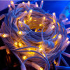 Outdoor Use Waterproof IP65 Rubber Wire Christmas String Lights