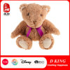 Imported Plush Stuffed Animals Teddy Bear with a Purple Bow