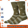 Custom Fashion Cotton Knitting Army Socks