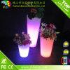 Battery Operated LED Plant Indoor Light Plastic Flower Pot