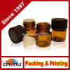 1ml Amber Glass Vial W Black Screw Cap and Orifice Reducer, Essential Oil Aromatherapy Sample Bottles