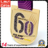 Top Quality Custom Marathon Medal with Gold Plating