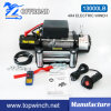 SUV 4X4 12V/24V DC Tractor Electric Winch (13000lb-1)