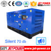 Water Cooling 125kVA Diesel Generators Set with 10hours Fule Tank