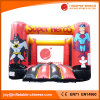 China PVC Tarpaulin Inflatable Super Heros Jumping Moonwalk Bouncer (T1-242)