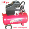 2HP 50L Portable Air Pump Piston Screw Air Compressor