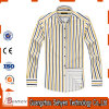 Twill Cotton Pure-Yellow Color Long Sleeve Business Formal Dress Shirts