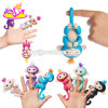 New Hottest 5 Colors Electronic Smart Touch Interactive Finger Monkey Toys for Kids W01A302