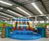 2017 Hot Inflatable Mini Water Slide Park with Swimming Pool