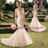 Freee Shipping Mermaid Bridal Wedding Dress with V Neckline