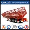 New Type Cimc Huajun 3axle Cargo/Stake Side Tipping Semi Trailer