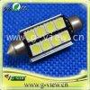 F41mm 8SMD 5050 3 Chip Canbus Festoon LED