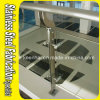 Floor Mounted 304 Stainless Steel Glass Railing Post