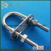 Stainless Steel U Bolt with Ear / Plate / Washer / Nut
