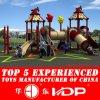 New Design for 20-35 Kids Outdoor Kids Playground Equipment Plastic Rotational Mold Plastic Playground