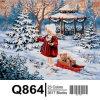 2017 Hot Sale Christmas Decoration Painting, Christmas Digital Painting