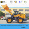 5t Sdlg Construction Wheel Loader with 3 Cbm Rock Bucket