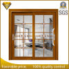 Art Glass Exterior Aluminium Sliding Door for Villa