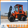 New 4WD Rough All Terrain Forklift with Rotating Fork