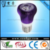 3X3w Cool/Warm Whitepurple Mushroom E27 LED Light