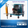 Hydraulic Concrete Splitter for Use in Tight and Hard Concrete