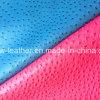 Popular Ostrich Grain PU Leather for Handbag Hw-7522