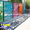 Exterior Laser Cut Steel Fence as Decoration