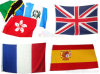 Wholesale Top Quality Digital Printed Different National Flying Flags