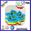 Custom Different Shape Silicone Cup Mat Cup Coaster