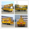 6 Wheels 16m Isuzu High Platform/Altitude Operation Truck
