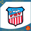Custom Red Vertical Strips Football Game Embroidery Patch (LN-0164)