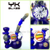Glass Smoking Water Bent Pipe Colorful Hookah