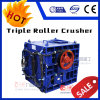 High Quality Rock Stone Triple Roll Crusher Machine Manufacture