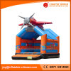 2017 New Design Inflatable Plane Jumping Castle Bounce (T1-009)