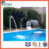 Swimming Pool Water Blade Artificial Ornament LED Waterfall