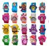 Yxl-352 Hot Sale Cute Silicone Watch Colorful Jelly Slap Watch Animal Kitty Panda Bird Sleep Kids Children Slap Watch