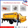 Pully Manufacture 30 M3/H Simens Motor Electric Portable Concrete Pump (HBT30.8.45)