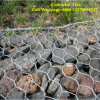 Galvanized Hexagonal 80X100mm Hesco Wire Mesh Gabion /Gabions (XM-P4)