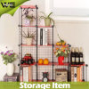 New Metal Metail Versatile DIY Storage Book Metal Shelf