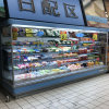 Ce Certification Good Quality Open Commercial Refrigeration Showcase