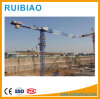Building Construction Site Generally Using Model Qtz31.5 Tower Cranes