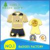 Factory Directly Sale Sports Wear Shape Metal Badge