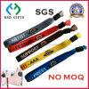 Popular Promotional Music Festival Fabric Wristband Woven Bracelet No Minimum Order