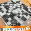 Black and White Ice Crack Glass Mosaics for Toilet Wall (G855006)